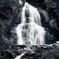 Moss Glen Falls Vt Waterfall by Jeff Folger