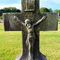 Moss On Cross by Ed Weidman