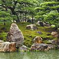 Mossy Japanese Garden by Carol Groenen
