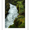 Mossy Rocks And Stream Poster by Mike Nellums
