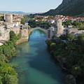 Mostar, Bosnia And Herzegovina.  Stari Most.  The Old Bridge. by Ken Welsh