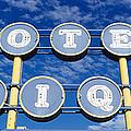 Motel Unique Sign Seligman Az by Panoramic Images