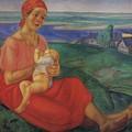 Mother 1 1913 Kuzma Sergeevich Petrov-vodkin by Eloisa Mannion
