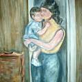 Mother And Child 2 by Joseph Sandora Jr