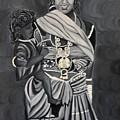 Mother And Child by Usha Rai