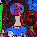 Mother And Child Vi by Pristine Cartera Turkus