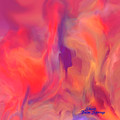 Mother And Daughter Abstract by Sherri's - Of Palm Springs