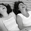 Mother And Daughter Laughing by Michelle Quance
