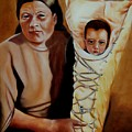 Mother And Son by Joni McPherson
