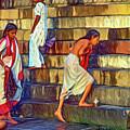Mother Ganges - Paint by Steve Harrington