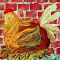 Mother Hen by Eloise Schneider Mote