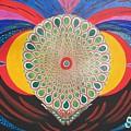 Blaa Kattproduksjoner  Mother Moth Mandala by Sigrid Tune