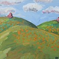 Mother Nature With Poppies by John Kilduff