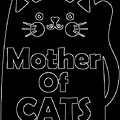Mother Of Cats 2 by Kaylin Watchorn