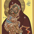 Mother Of God Virgin Of The Don 187 by William Hart McNichols
