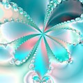 Mother Of Pearl Butterfly by Regina Rodella