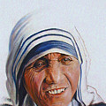 Mother Teresa by John Lautermilch