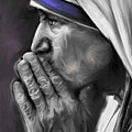 Mother Teresa Of Calcutta by Mark Tonelli
