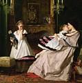 Motherly Love by Gustave Leonard de Jonghe