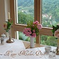Mother's Day Card - German Cafe by Carol Groenen