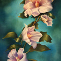 Mothers Rose Of Sharon by Marti Bailey