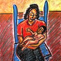 Mother's Touch by Albert Almondia