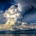 Mothership Thunderstorm  by Ronald Kotinsky