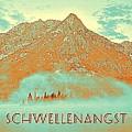 Motivational Travel Poster - Schwellenangst 2 by Celestial Images