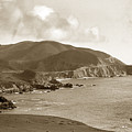 Notleys Landing Big Sur Coast Circa 1933 by California Views Archives Mr Pat Hathaway Archives