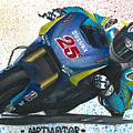 Motogp - Maverick Full Gas  by Adrian Lopez Lozano