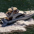 Motor Boat 2 by Viktor Birkus
