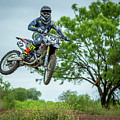 Motocross Aerial by David Morefield