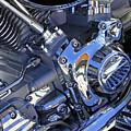 Motorcycle Blues 2 by Lynda Lehmann