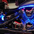 Motorcycle Mirror by Don Youngclaus