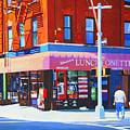 Mott Street by John Tartaglione