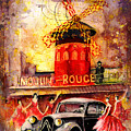 Moulin Rouge Authentic Madness by Miki De Goodaboom