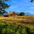 Moulton Barn Jackson Hole by Ben Graham