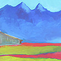 Moulton Barn Jackson Hole Wyoming by Nicole Gaitan