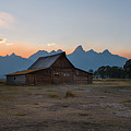 Moulton Ranch Sunset On Mormon Row by Michael Ver Sprill