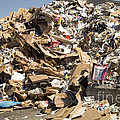 Mound Of Recyclables by Inga Spence