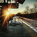 Mount Arlington Station In Winter by Mark Miller