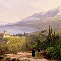 Mount Athos And The Monastery Of Stavroniketes by Edward Lear