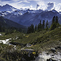 Mount Baker From The Lake Ann Trail by Paul Conrad