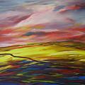 Mount Callan Sunlight by Eamon Doyle