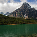 Mount Chephren From Waterfowl Lake - Banff National Park by Yefim Bam