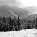 Mount Colden During Winter From Marcy Dam In The Adirondack Mountains by Brendan Reals