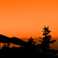Mount Craig Above Sunset by Jason Wade