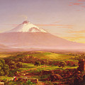 Mount Etna by Thomas Cole