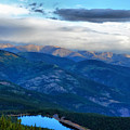 Mount Evans Painterly 2  by Angelina Vick