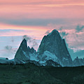 Mount Fitz Roy At Dusk by Fran West